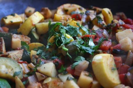 This week Albanian Vegetables were my favorite