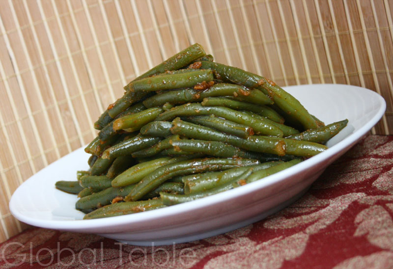 Algerian Spiced Green Beans