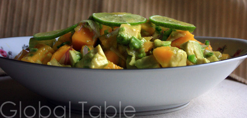 Spicy Mango and Avocado Salad
