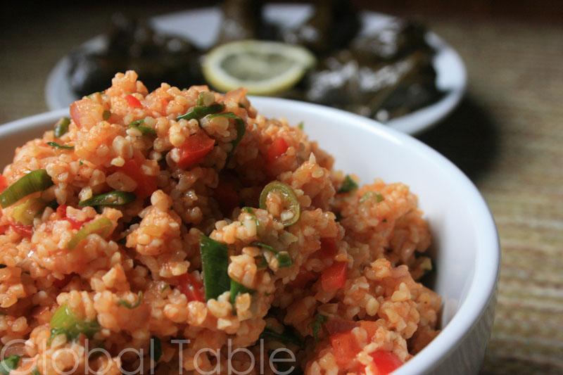Armenian Bulgur Pilaf Salad Itch