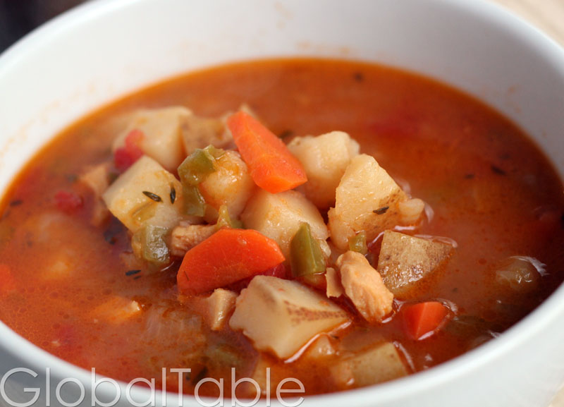 Bahamian Conch Chowder, yum!