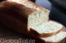 Coconut Bimini Bread, fresh from the oven