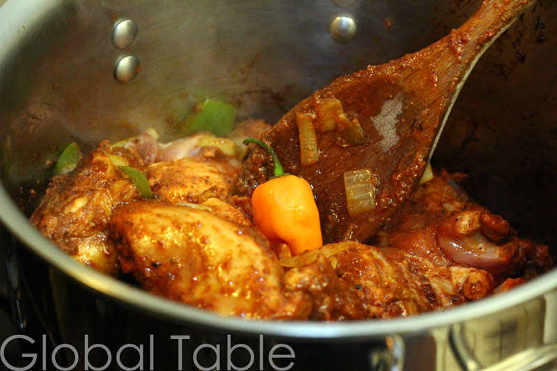 Stew Chicken from Belize | Global Table Adventure