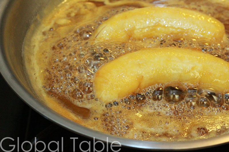 Recipe: Baby Bananas in Orange Sauce