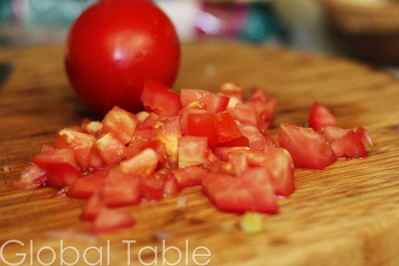 Bolivian Avocado and Tomato Salad | Global Table Adventure