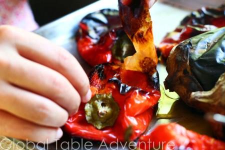 Roasted Eggplant & Bell Pepper Dip | Kyopolou | Global ...