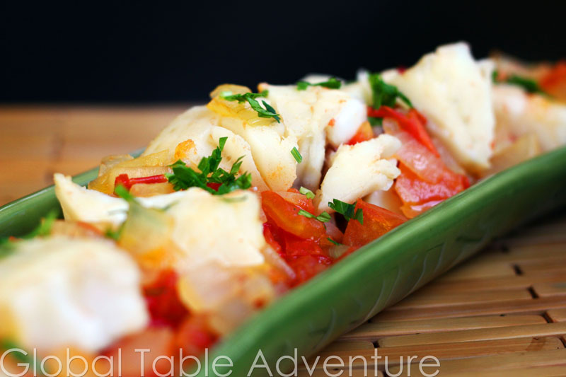 Fish with Tomatoes & Red Palm oil | Global Table Adventure