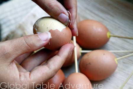 Cambodian Grilled Eggs | Global Table Adventure