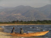 Fishermen on Lake Tanganyika. Photo courtesy of Francesca Ansaloni