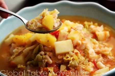Peasants Cachupa (Cachupa Pobre) Vegan   Global Table Adventure