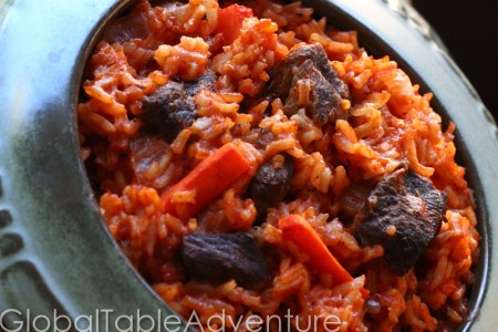 Fat Rice with Beef & Carrots | Riz au Gras | Global Table ...