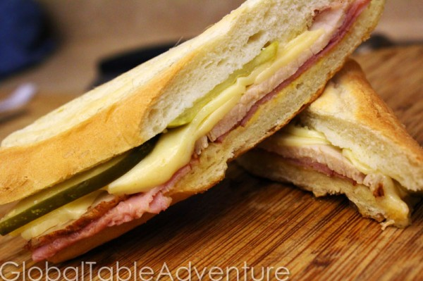 Cuban | Hot Pressed Pork Sandwich | Global Table Adventure