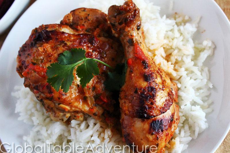 Dominican Stew Chicken | Pollo Guisado | Global Table Adventure
