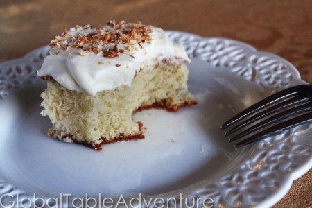 Caribbean Tres Leches Cake | Global Table Adventure