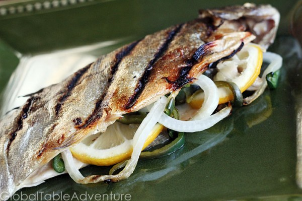 Stuffed Grilled Trout | Global Table Adventure