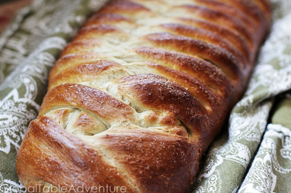 Makes 1 giant loaf (or as many smaller shapes as you'd like)