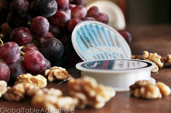 Natural Grape & Walnut Candy (Churchkhela From The ...