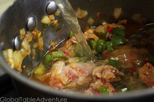 Spicy Chicken Peanut Soup | Groundnut Soup | Global Table Adventure
