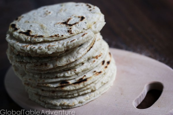 how to make batter with corn flour