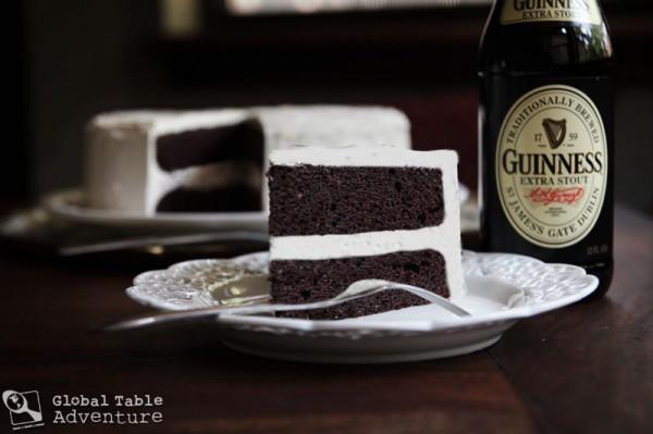 Dark Chocolate Guinness Cake with Bailey's Buttercream | Global ...