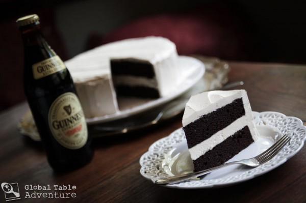 Dark Chocolate Guinness Cake with Bailey's Buttercream   Global ...