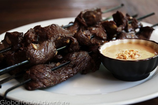 Beef Sate | 21 of the World's best grilled eats.