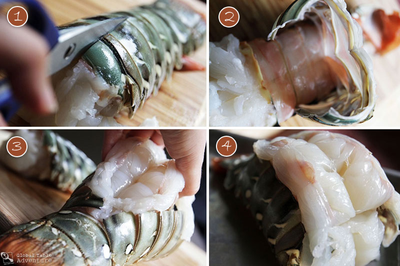 Roasted Lobster Tails with Coconut Curry Dipping Sauce | Global Table ...