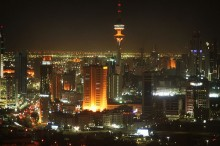 Kuwait City. Photo by  Rajat Kansal.