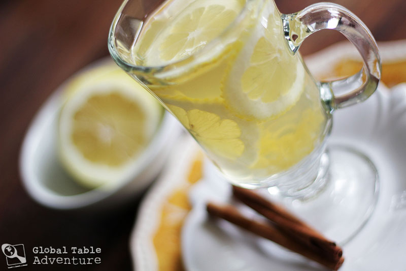 Recipe: Hot Honey Lemon with Vodka (Central Asia/Eastern Europe)