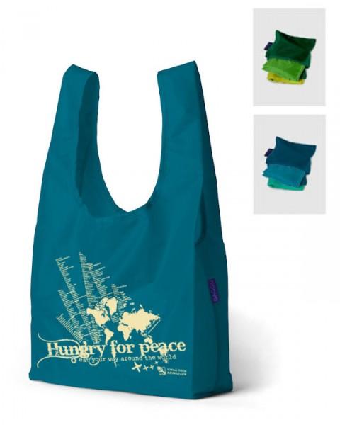 white reusable shopping bag MatroMeE
