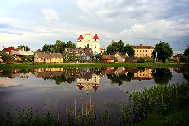 Lithuanian town. Photo by E.Giedraitis