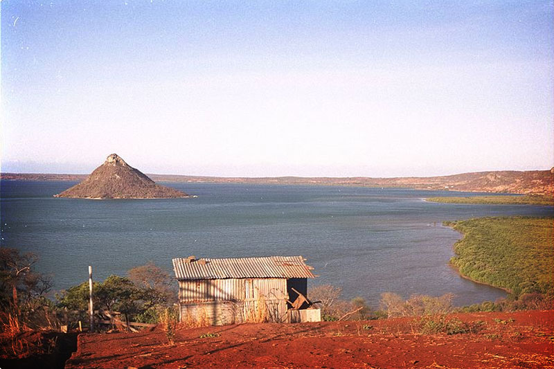 A lake at Sambava, Madagascar. Photo by WRI Staff.