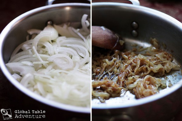 Triple Cheesy Pasta With Sweet Onion (Kasknopfle) Recipe ...