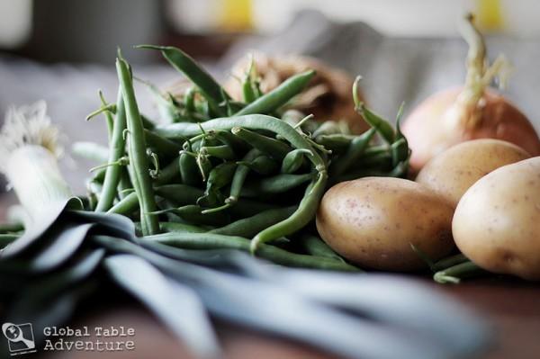 ... green bean casserole green bean and hazelnut salad herbed green bean