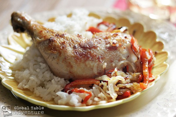 madagascar food chicken sy meal malagasy foods recipe coconut dish rice recipes african culture oil africa most cuisine globaltableadventure monday