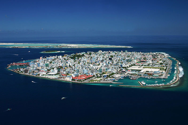 Male, the capital of Maldives. Photo by Shahee Ilyas.