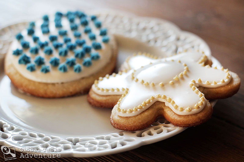 Marzipan Easter Cookies from Malta | Figolla | Global Table Adventure