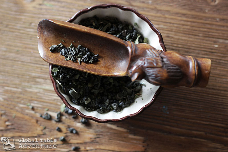 ... mint & green tea blend, or mix your own by combining green tea with a