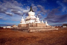 Monastery in Mongolia. Photo by Bouette.