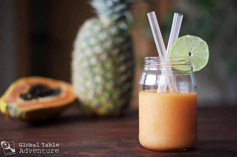 Pineapple Papaya Coco Sipper | Global Table Adventure