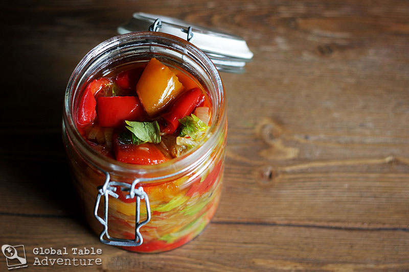 Recipe: Moldovan Preserved Peppers