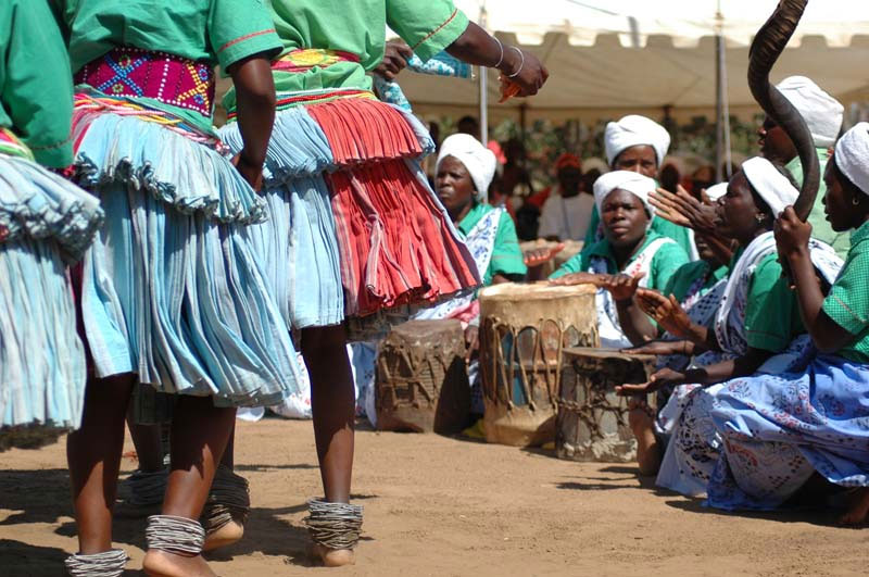 Traditional Shangaan Dancing. Photo by JJ van Zyl.