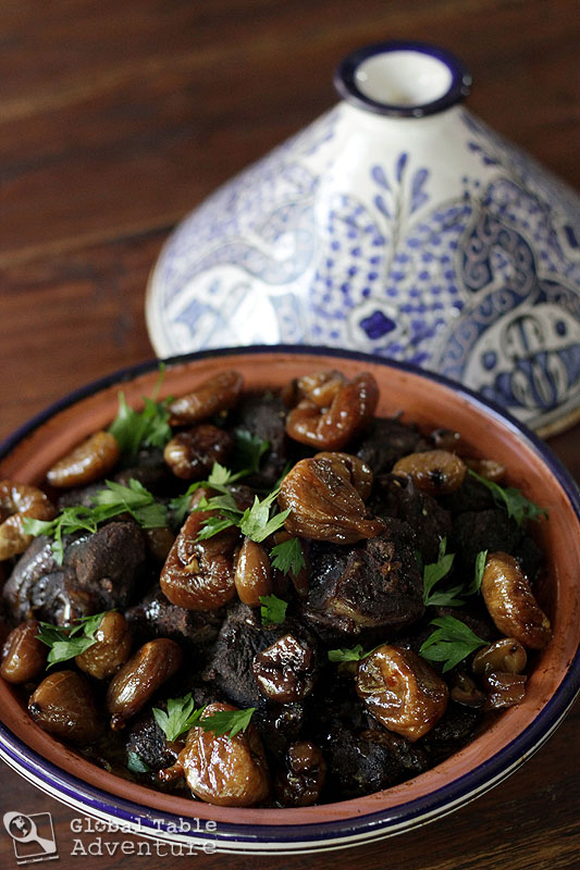 Moroccan Lamb Tagine with Sweet Honey Figs | Global Table Adventure