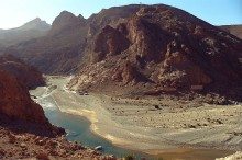 Ziz River, Morocco. Photo by Jerzy Strzelecki.