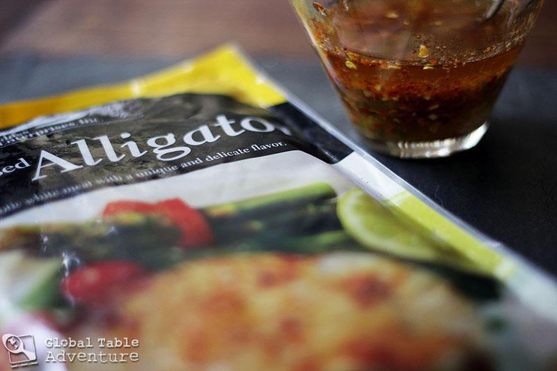 Recipe: An Alligator's Bite (Bushmeat Skewers) w/ poll