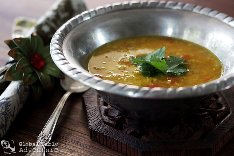 Vegan spiced yellow split peas dhal baht global table adventure if forumfinder Image collections