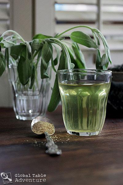 North African Sage n' Green Tea | Global Table Adventure