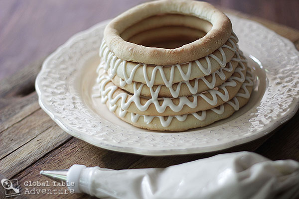 Scandinavian Ring Cake | Kransekake | Global Table Adventure