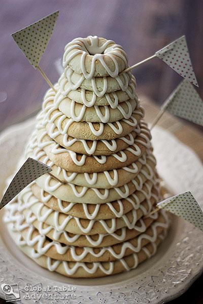 Danish Almond Wedding Cake