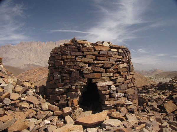 Jabrin Wall (World Heritage Site in Oman). Photo by F igy.